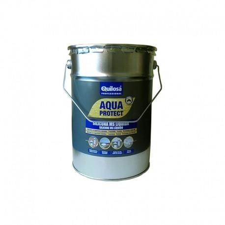 Silicona MS LIQUIDA QUILOSA AQUA PROTECT caja 2 ud 5 kg