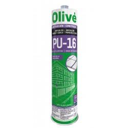 SELLADOR POLIURETANO OLIVE PU-16 caja 24 ud 300 ml