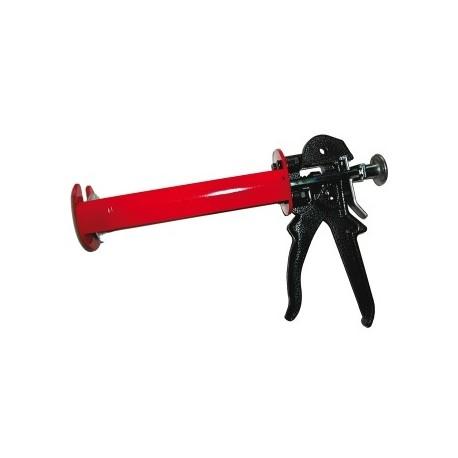 Pistola aplicadora para anclaje químico