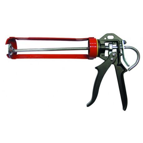 Pistola profesional para anclaje químico en cartucho 280 Ml.