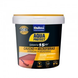 AQUAPROTECT CAUCHO MICROFIBRAS