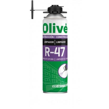 OLIVE R-47 LIMPIADOR DE ESPUMA FRESCA DE POLIURETANO AE 500ML