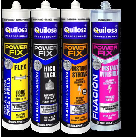 Promoción lote power Fix de QUILOSA
