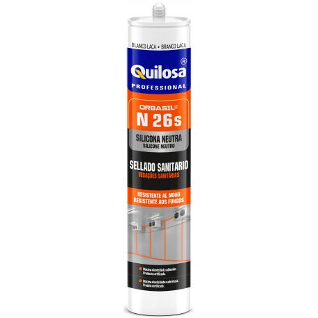 SILICONA NEUTRA ORBASIL N-26 SANITARIA Cr 300 ml.