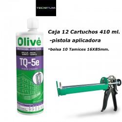 Pack instalación taco Químico OLIVE