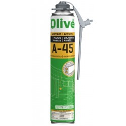 Espuma adhesiva instantánea OLIVE A-45
