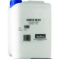 COLA BLANCA MADERA QUILOSA UNIFIX M-02 5kg.