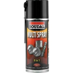 LUBRICANTE MULTIUSOS SPRAY 400ml. SOUDAL