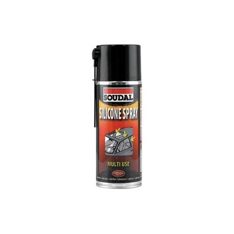 SILICONA EN SPRAY SOUDAL