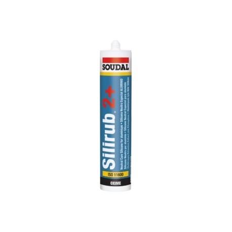 SILICONA NEUTRA SOUDAL SILIRUB 2 + AENOR ISO 11600