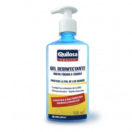Gel desinfectante y bactericida QUILOSA