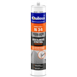 SILICONA NEUTRA ESTRUCTURAL ORBASIL N-34 CAJA 24 UD CR 300 ml
