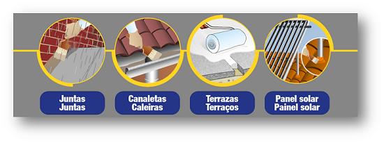 Aplicaciones AQUA PROTECT