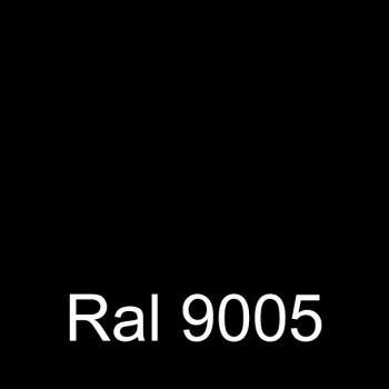 Negro intenso santinado RAL 9005