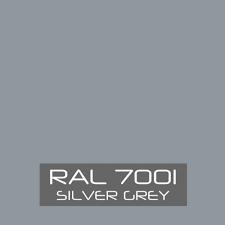 RAL 7001 Gris plata
