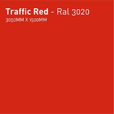 RAL 3020 Rojo trafico
