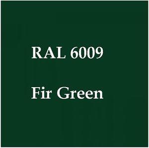 RAL 6009 Verde abeto
