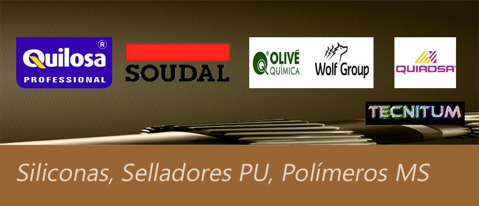 Selladores, siliconas, poliuretano, polímeros MS